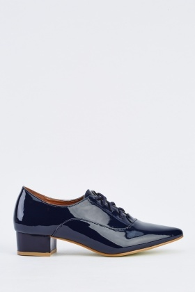 Oxford PVC Lace Up Shoes