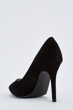 Pointy Toe Heeled Court Shoes