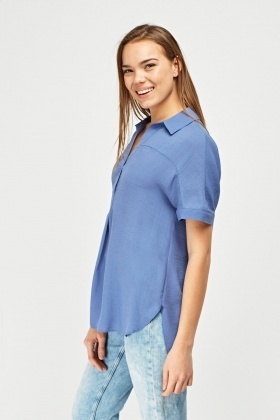 Loose Flow Chiffon Blouse