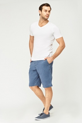 Mens Cotton 3/4 Shorts