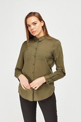 Twin Pocket Front Shirt
