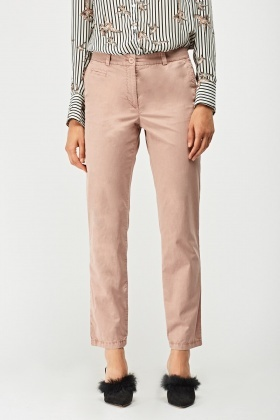 Straight Leg Chino Casual Trousers
