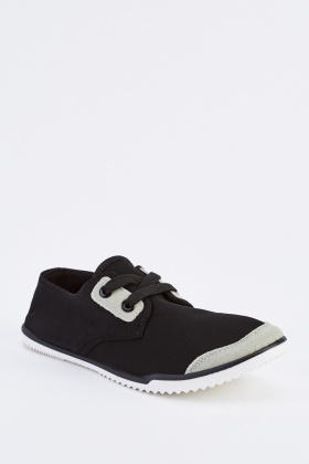 Low Top Lace Up Trainers