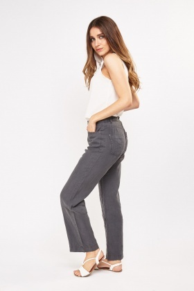 Linen Grey Light Weight Trousers