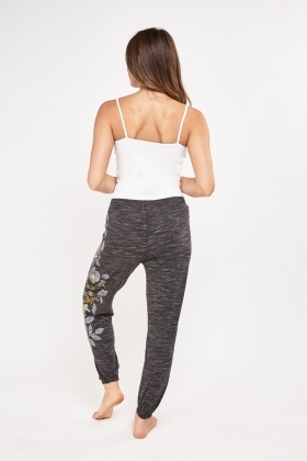 Printed Side Pyjama Bottoms