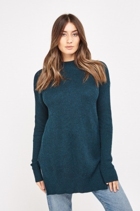 Ribbed Chunky Knit Jumper