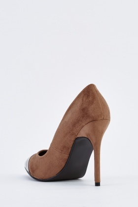 Court Contrast Pump Heels