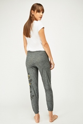 Printed Speckled Pyjama Bottoms
