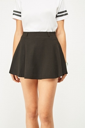 Textured Mini Rara Skirt