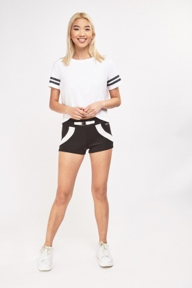 Belted Front Hotpants