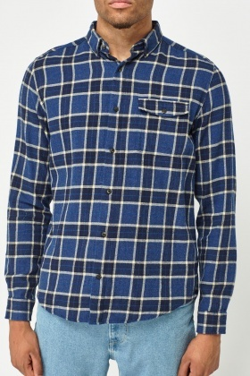 Gingham Checked Shirt
