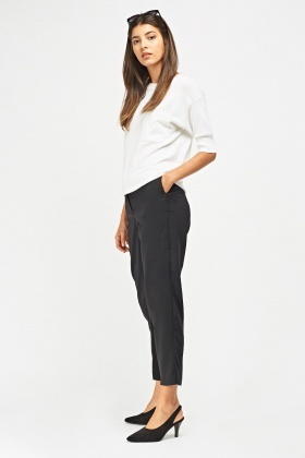 Tailored Cigarette Trousers
