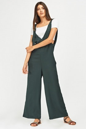 5e004be8eb7a Wide Leg Pinafore Jumpsuit - Just £5