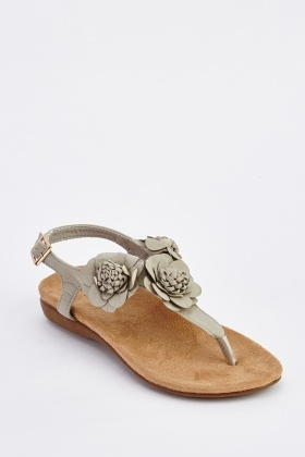 e62abd1f223a59 Flower Sandals - Flowers Healthy