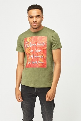 Graphic Mens Print T-Shirt