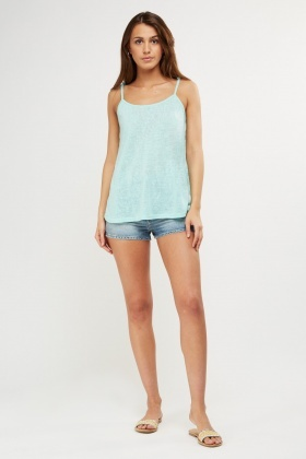 Lace Insert Camisole top