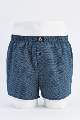 Mens Pack Of 3 Woven Boxers