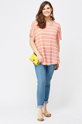 Basic Candy Stripe Top
