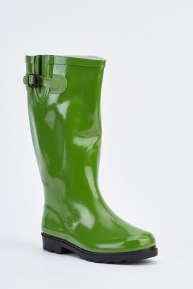 Buckle side Wellington Boots