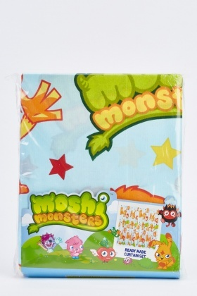 Monsters Ready Made Curtain Set