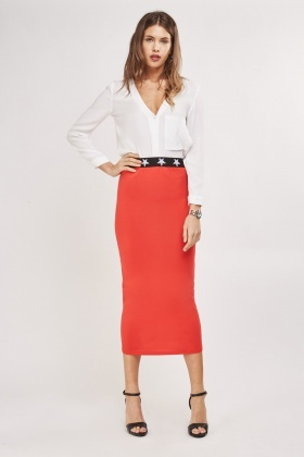 Basic Tube Maxi Skirt