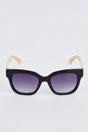 f39ff95ae12 Colour Block Wayfarer Sunglasses - Just £5