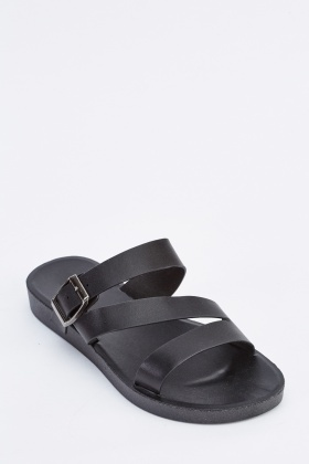 Cut Out Buckle Strap Sliders