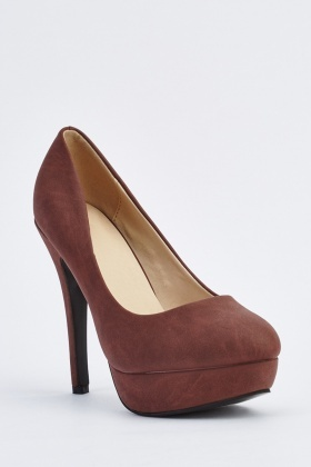 High Heel Platform Pumps
