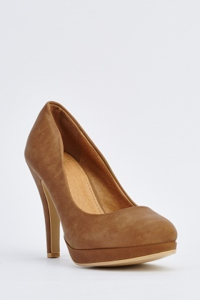 Pointed-Toe High Heel Pumps