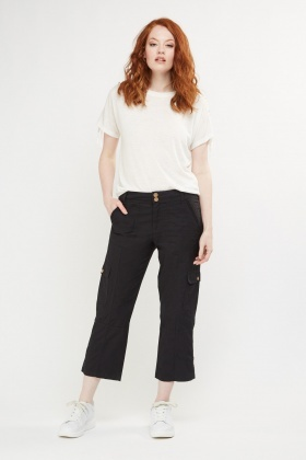 Casual Capri Combat Trousers