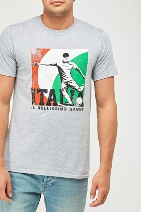 Italy Football Graphic T-Shirt