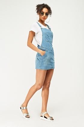 72bac4e8028 Denim Dungaree Dress - Just £5