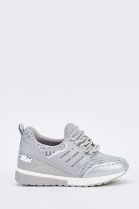 Chunky Contrast Trainers