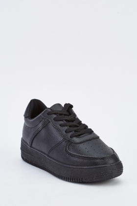 Low Top Platform Trainers