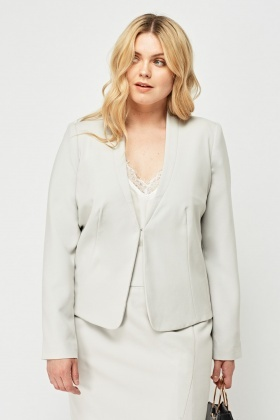 Light Grey Formal Blazer