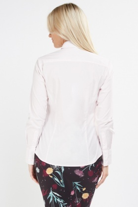 Long Sleeve Fitted Shirt
