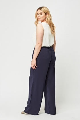 Smart Wide Leg Trousers