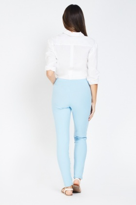 Embellished Front Trousers