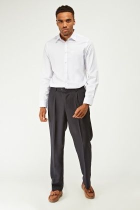 Formal Mens Straight Leg Trousers