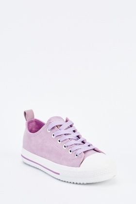 Low Top Lace Up Plimsolls
