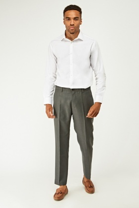 Low Rise Tailored Trousers