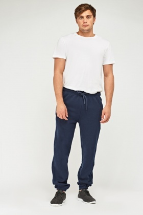 Basic Cuffed Jogger Pants