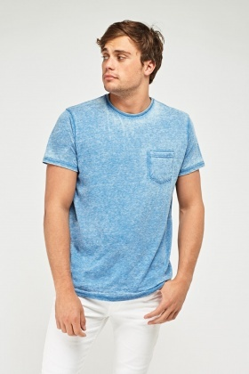Speckled Single Pocket T-Shirt