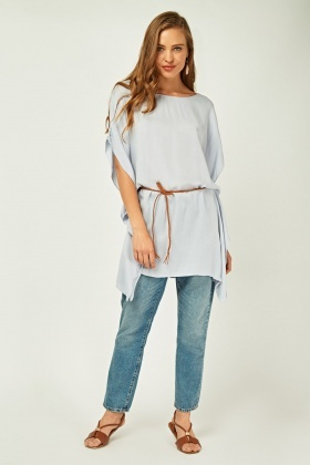 Tie Up Long Kaftan Top