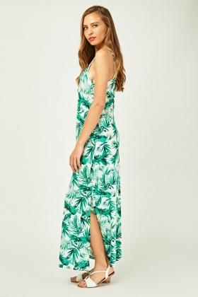 ac86e5d32f1 Tropical Floral Print Maxi Dress - Just £5