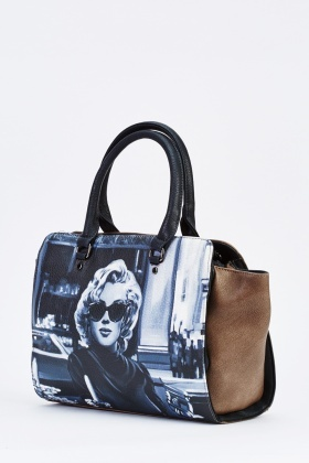 Marilyn Monroe Print Frame Bag