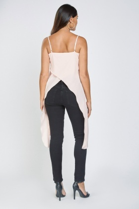 Asymmetric Hi-Lo Cami Top