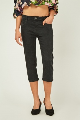 Low Rise Skinny Carpi Jeans