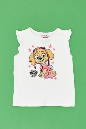 Paw Patrol Graphic Front Top