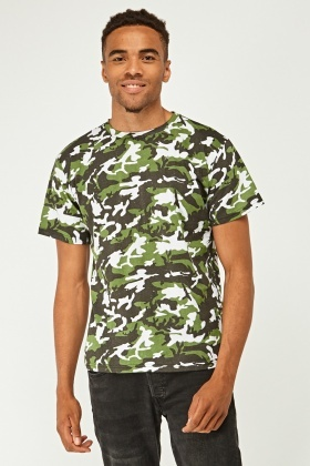 Pack Of 2 Camouflage T-Shirts